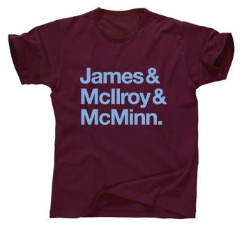 Burnley Football Cult Heroes T-shirt