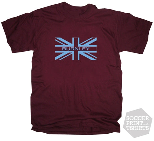 Burnley Union Jack T-Shirt