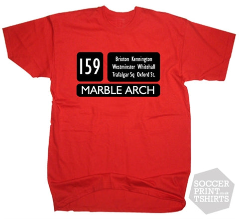 London Red Bus Routemaster 159 T-Shirt