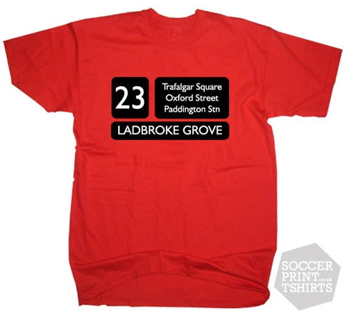London Red Bus Routemaster 23 T-Shirt