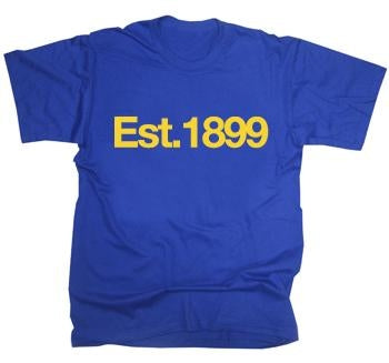 Cardiff City Est 1899 T-Shirt
