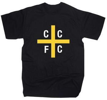 Cardiff City St. Davids Flag T-Shirt