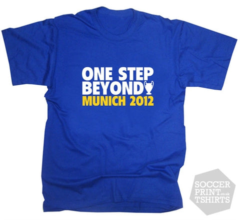 2012 Chelsea One Step Beyond Munich T-Shirt