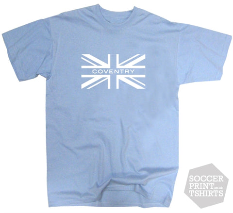 Coventry City Union Jack T-Shirt