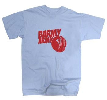 Barmy Army Cricket Ball T-Shirt