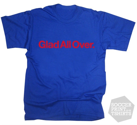 Cult Palace retro Glad All Over T-Shirt