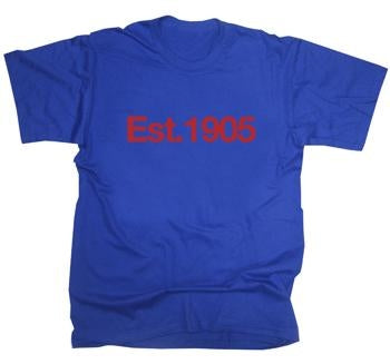 Crystal Palace Established 1905 T-Shirt