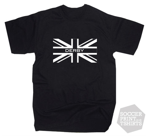 Derby County Union Jack T-Shirt