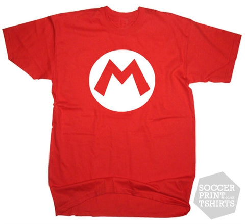 Nintendo Funny Mario Fancy Dress T-Shirt