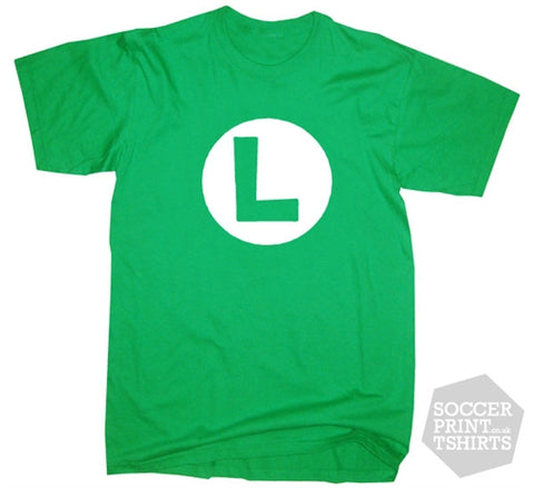 Nintendo Funny Luigi Fancy Dress T-Shirt