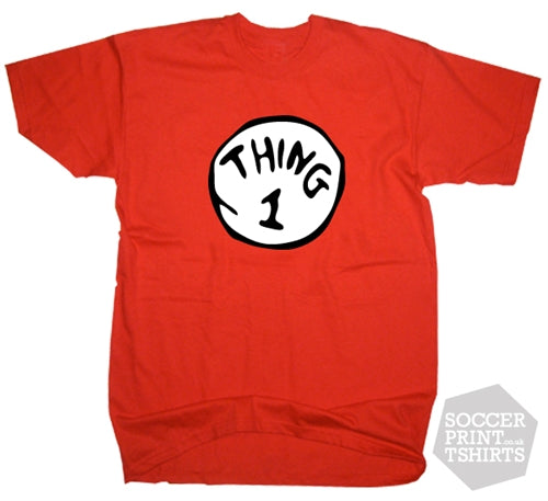 Thing 1 Funny Fancy Dress T-shirt