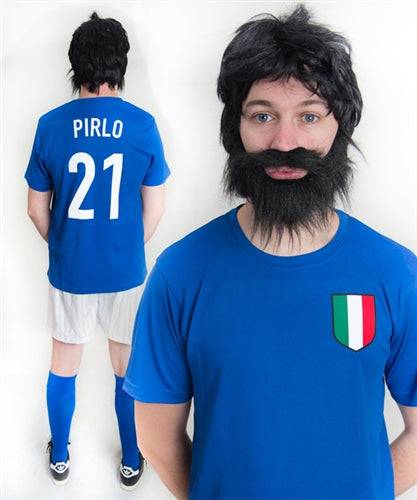 Andrea Pirlo Italy Football Fancy Dress Costume