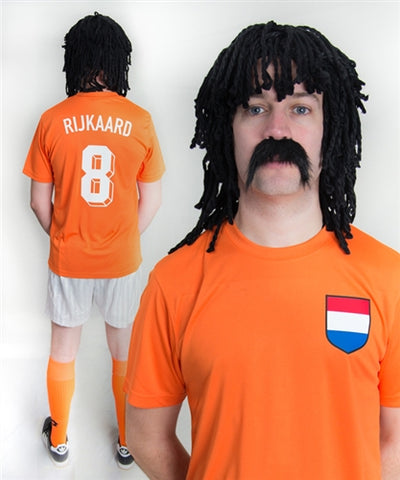 Frank Rijkaard Holland Football Fancy Dress Costume