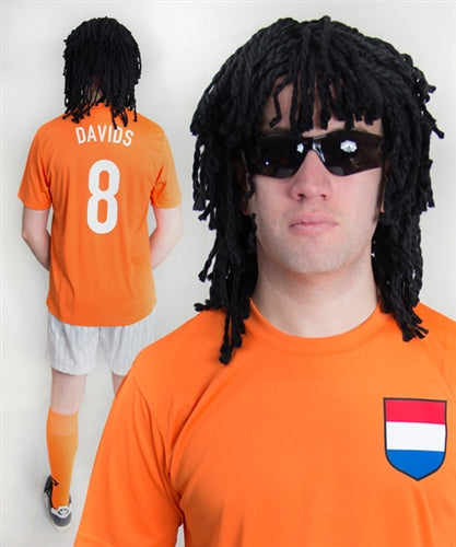 Edgar Davids Holland Football Fancy Dress Costume