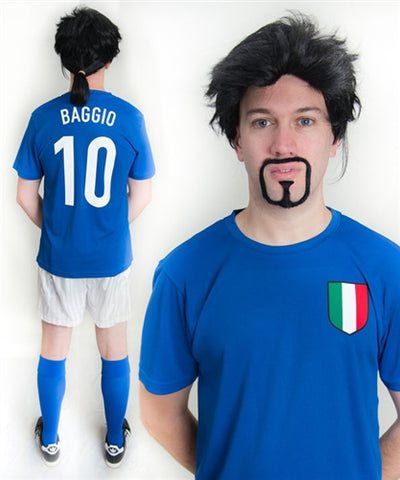 Roberto Baggio Italy World Cup Football Fancy Dress Costume