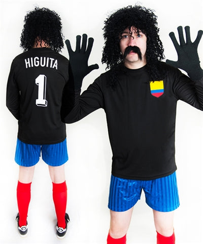 Rene Higuita Football Fancy Dress Costume