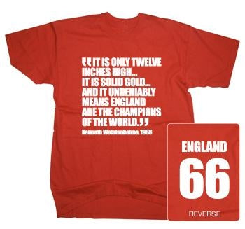 World Cup Quote & England 66 T-Shirt
