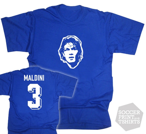 Paolo Maldini Italy Number 3 T-Shirt