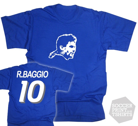 Roberto Baggio Italy Number 10 T-Shirt