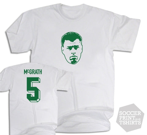 Paul McGrath Ireland Number 5 T-Shirt