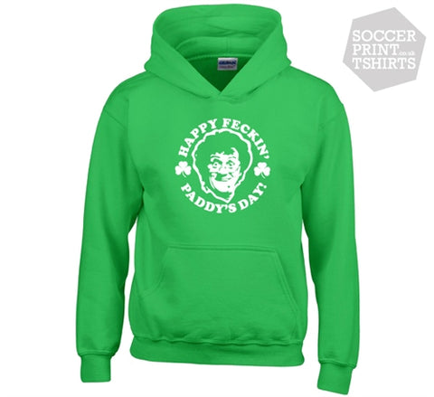 Funny Mrs Brown's Boys St Patrick's Day Feckin Paddys Hoodie