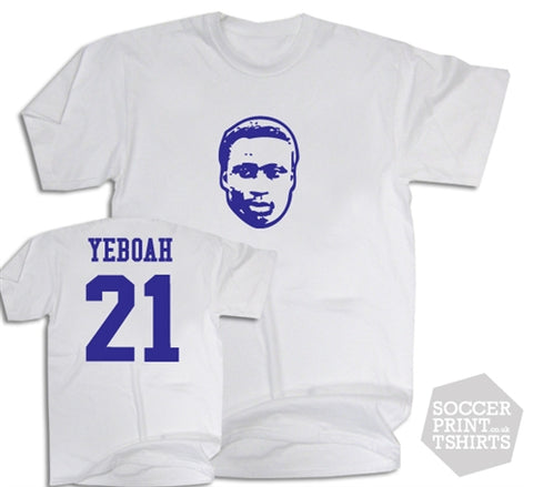 Tony Yeboah Leeds United Number 21 T-Shirt