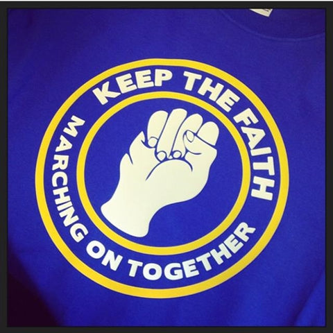 Leeds Utd Northern Soul Keep the Faith MOT T-Shirt