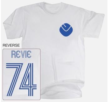 Leeds United Legend Revie No.74 T-Shirt