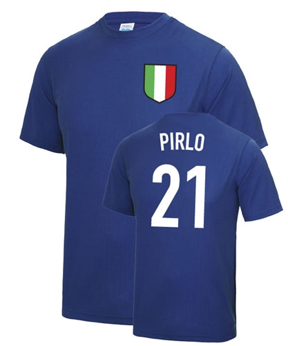 Andrea Pirlo Number 21 Italy Legend T-Shirt