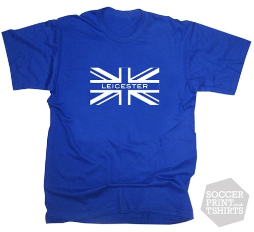 Leicester City Union Jack T-Shirt