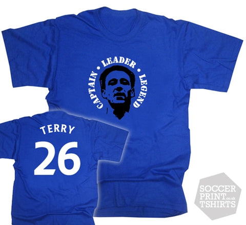 John Terry Chelsea Number 26 Face T-Shirt