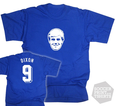 Kerry Dixon Chelsea Number 9 Face T-Shirt