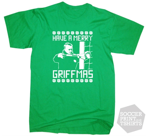 Leigh Griffiths Celtic Christmas T-Shirt