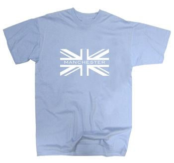 Manchester City Union Jack T-Shirt