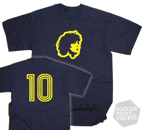 Diego Maradona Boca Juniors Number 10 T-Shirt