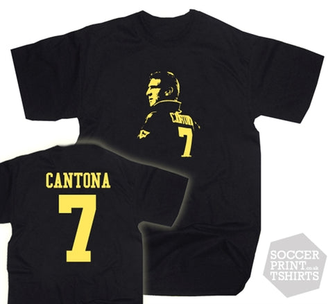 Eric Cantona Manchester United Number 7 Kung Fu T-Shirt