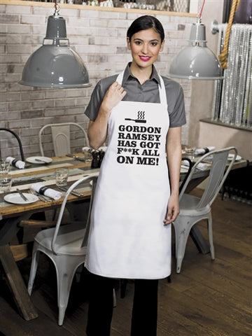 Funny 'Gordon Ramsey Has F**K All On Me' Cooking Apron