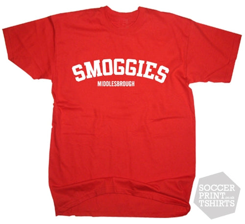 Smoggies Middlesbrough T-Shirt