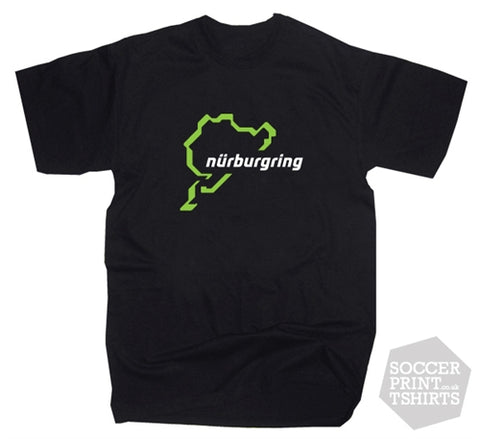Funny Nurburing Race Track Motor Sport T-Shirt