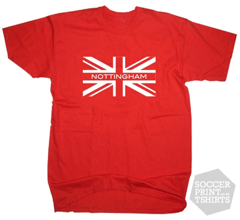 Nottingham Forest Union Jack T-Shirt