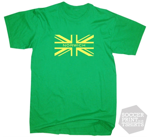 Norwich City Union Jack T-Shirt