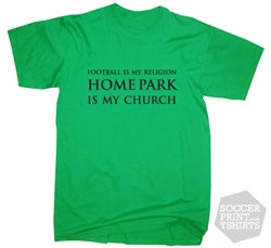 Plymouth Argyle Home Park Is My Church T-Shirt
