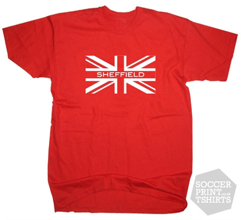 Sheffield United Union Jack T-Shirt