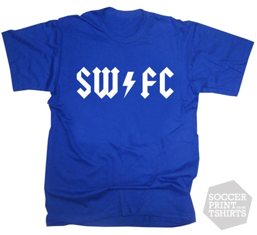 Cult Wednesday retro SWFC rock t-shirt