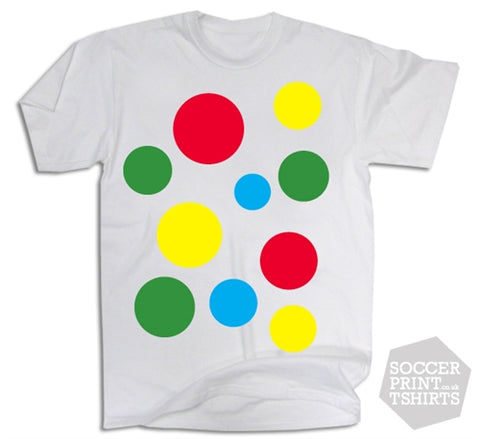 Spotty Spotted Coloured T Shirt