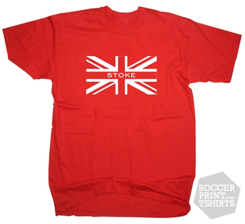 Stoke City Union Jack T-Shirt