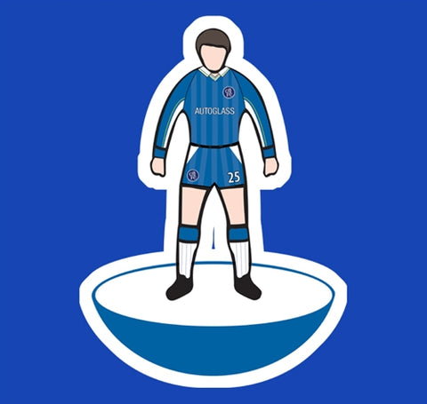 Gianfranco Zola Chelsea Football Game Figure Soccer T-Shirt
