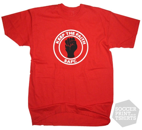 Sunderland Northern Soul Keep the Faith SAFC T-Shirt