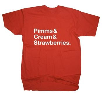 Wimbledon Strawberries & Cream T-Shirt