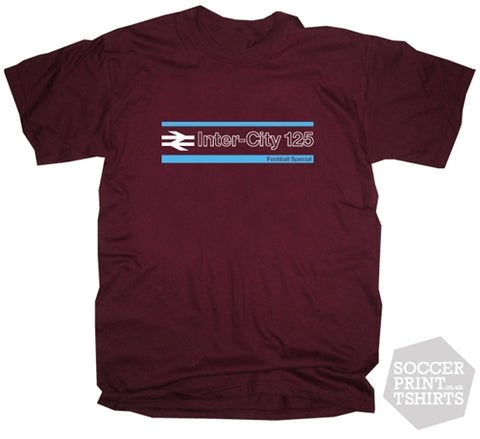 Terrace Life 1980's Casuals Away Days Claret & Blue Football Special T Shirt